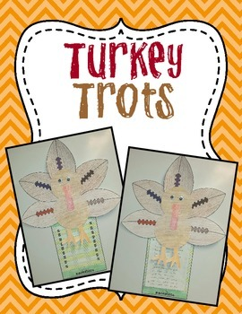 Turkey Trot - Thanksgiving Writing Craftivity About Turkeys That Love Football!