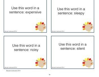 Synonyms Antonyms Homonyms Turkey Vocabulary Use in Sentences