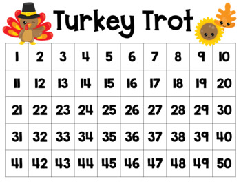 Turkey Trot to 50 or 100