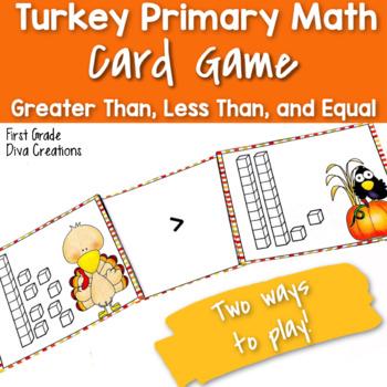 Turkey Math Activities {Place Value}