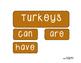 Turkey Trouble: A Mini Unit