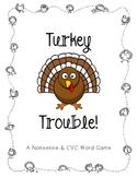 Turkey Trouble! A Nonsense & CVC Word Game