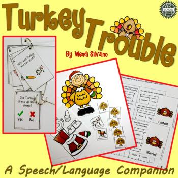 Turkey Trouble: A Speech/Language Book Companion