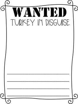 Turkey Trouble Activities