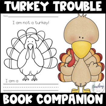 Turkey Trouble Companion and Turkey Disguise Activities