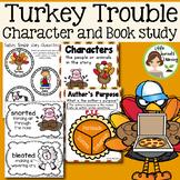 Turkey Trouble Activities and Book Study (plus non fiction reader on Turkeys)