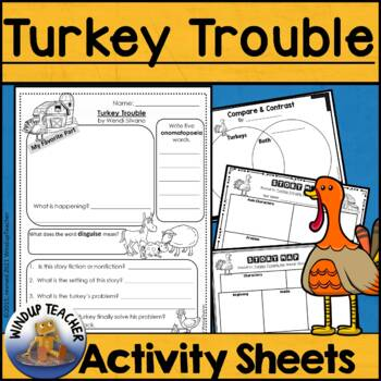 Turkey Trouble Activity Sheet - Print & Go!