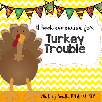 Turkey Trouble Book Companion Packet