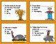 Turkey Trouble  --  Comprehension Task Cards