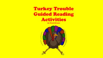 Turkey Trouble Guided Reading Lesson Plan