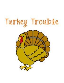 Turkey Trouble Letter Maze