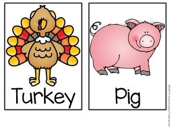 Turkey Trouble! Literacy Activities