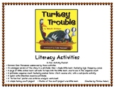 """Turkey Trouble"" Literacy Activities & Printables"