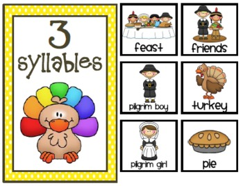 Turkey Trouble {Literacy Center Activities}