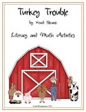 Turkey Trouble Literacy and Math Activities