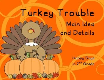 Turkey Trouble Main Idea & Details