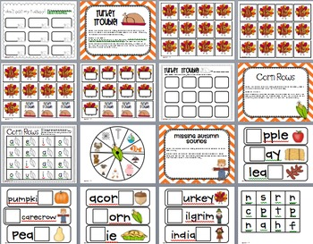 Turkey Trouble! {Math and Literacy Games}