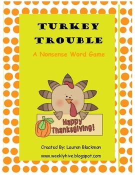 Turkey Trouble Nonsense Sort