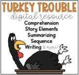 Turkey Trouble - Online Digital Resource Google Classroom /Google Slides