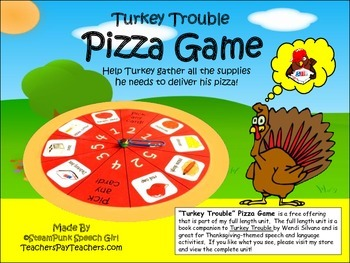Turkey Trouble PIZZA GAME