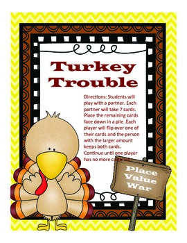 Turkey Trouble- Place Value War