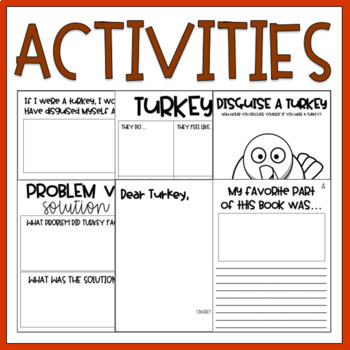 Turkey Trouble / Read Aloud Book Companion