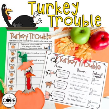 Turkey Trouble: Interactive Read-Aloud Lesson Plans and Activities