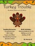 Turkey Trouble Reading/Math Resource