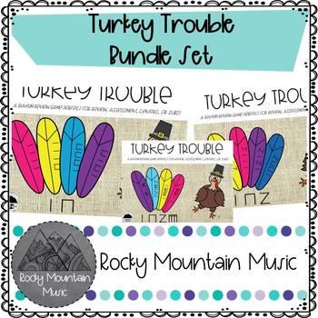Turkey Trouble Rhythm Games Bundle Set