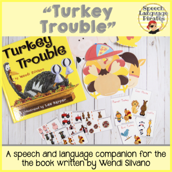 """Turkey Trouble"" Speech Language Companion"
