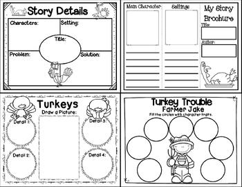 Turkey Trouble (Story Companion with nonfiction turkey activities included!)