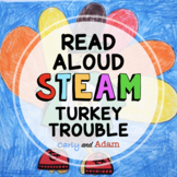 Turkey Trouble Thanksgiving READ ALOUD STEAM™ Activity with Distance Learning