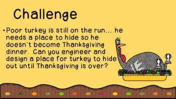 Turkey Trouble Thanksgiving STEM Challenge