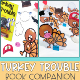 Turkey Trouble Speech Therapy Thanksgiving Book Companion NOW WITH BOOM CARDS