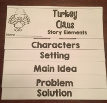 Turkey Trouble and Turkey Claus Book Study Bundle