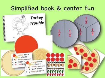 Turkey Trouble Activity Pack: sequence, flannel board,simple book, LA & math