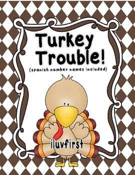 Turkey Trouble-MATH (Bilingual)