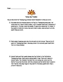 Thanksgiving multiplication word problems and math fact ri