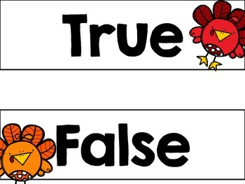 Turkey True or False?