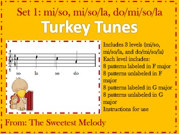 Turkey Tunes Set 1