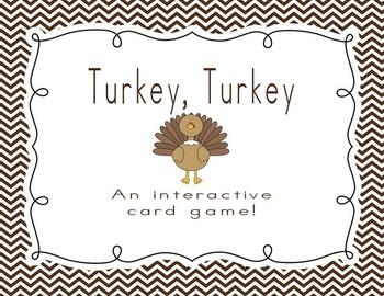 Turkey, Turkey: An Interactive Card Game
