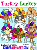 Turkey Turkey { Clip Art for Teachers }