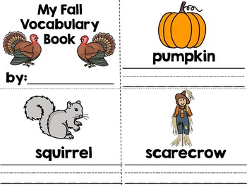 Turkey, Turkey- Fall Themed Adapted Book {Autism, Early Childhood, SPED}