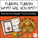 Turkey, Turkey: A Fall Interactive Reader & Related Activities