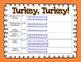 Turkey, Turkey! Literacy Centers for 1st & 2nd Grade