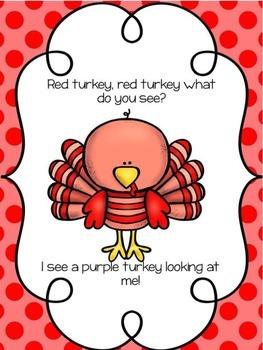 Turkey Turkey What Do You See?