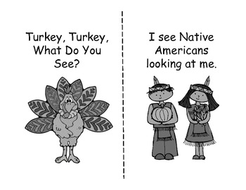 Turkey, Turkey What Do You See? --Student Version