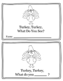 Turkey, Turkey What Do You See? Thankgiving Activity Emerg
