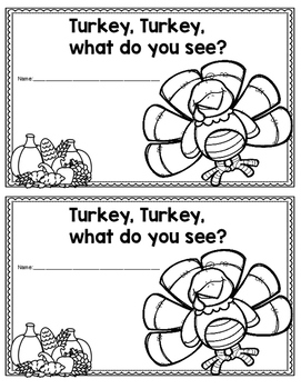 Turkey, Turkey, What do you see?