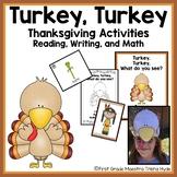 Turkey Turkey What Do You See